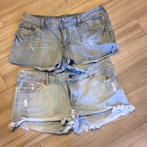 American Eagle shorts 2 pair